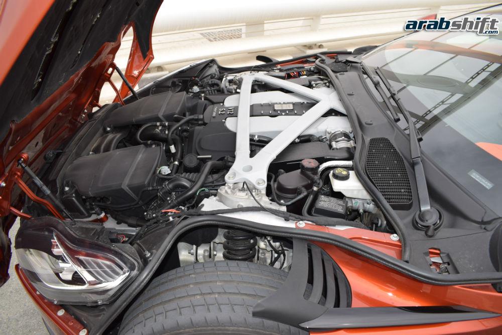 محرك استون مارتن DB11 V12