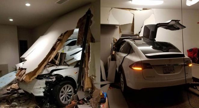 تيسلا تخلي مسؤوليتها ونظام القيادة الذاتية من حادث تسارع موديل X