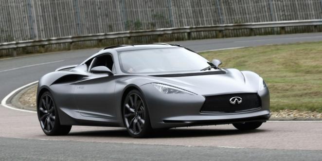 انفينيتي تنوي اطلاق سيارة رياضية كهربائية في عام 2020