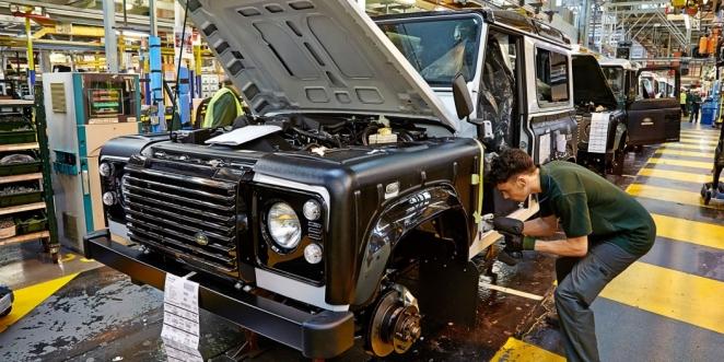 محركات بمبلغ ضخم تسرق من مصنع جاكوار لاندروفر