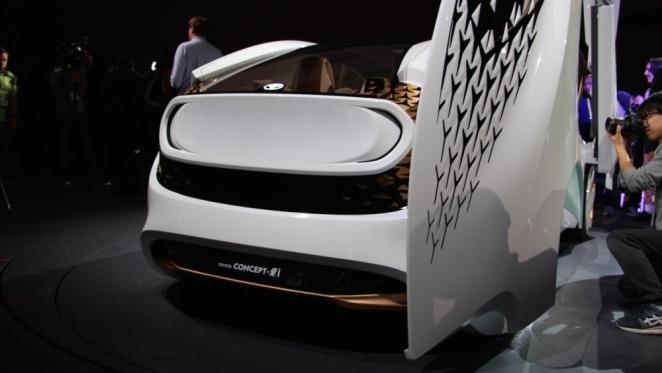 تويوتا تكشف عن Concept-i الإختبارية بذكاء إصطناعي