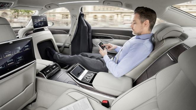 داخلية Audi A8