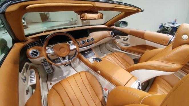 تعديل غريب تطلقه شركة كارلسون على سيارة مرسيدس S-Class كابريوليه