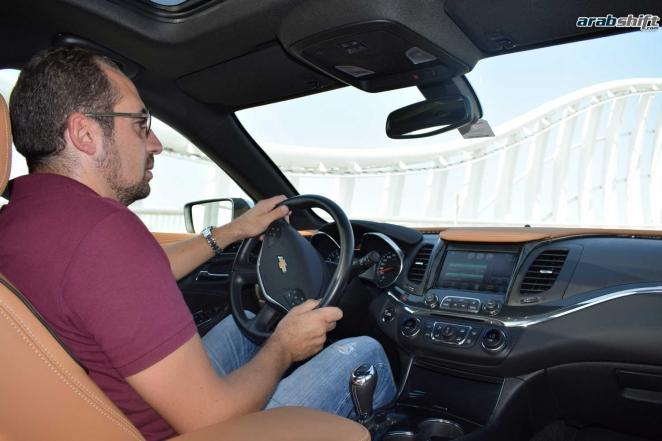 تجربة قيادتنا لسيارة شفروليه امبالا