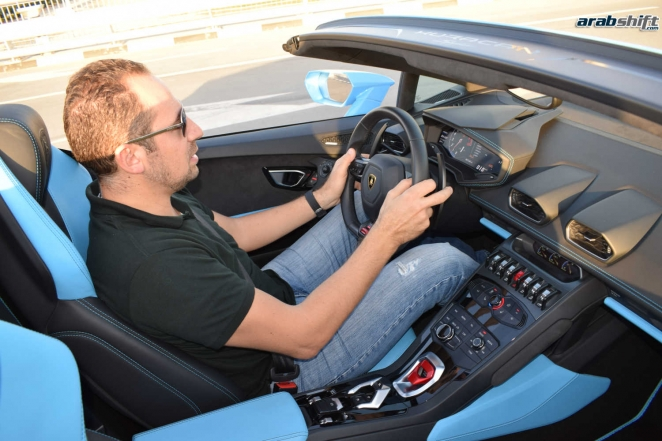 تجربة قيادتنا لسيارة لمبرحيني هوركان سبايدر