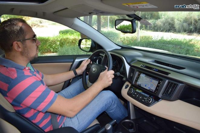 تجربة قيادتنا لسيارة تويوتا RAV4