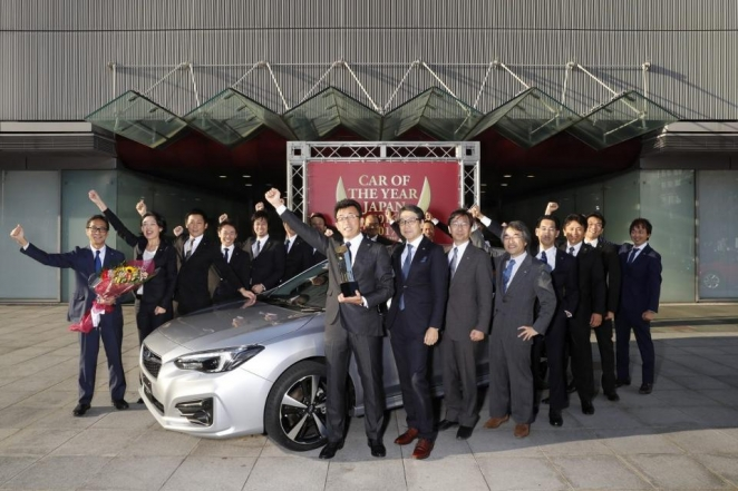 سوبارو إمبريزا 2017 الجديدة تحصد لقب سيارة العام في اليابان