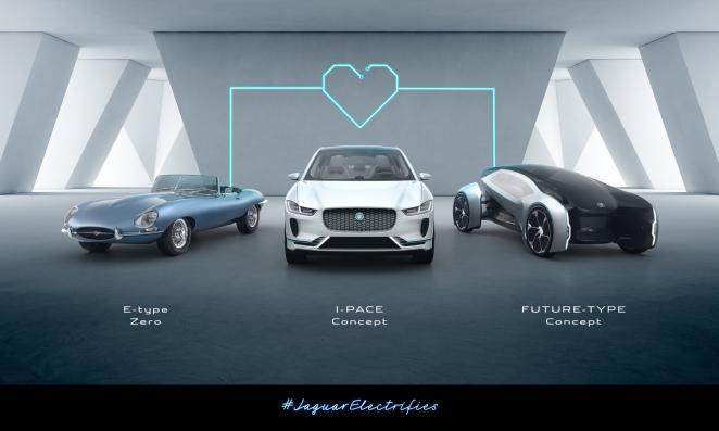 جاكوار لاند روڤر تكشف عن التزامها بأن جميع سياراتها اعتباراً من عام 2020 ستكون كهربائية