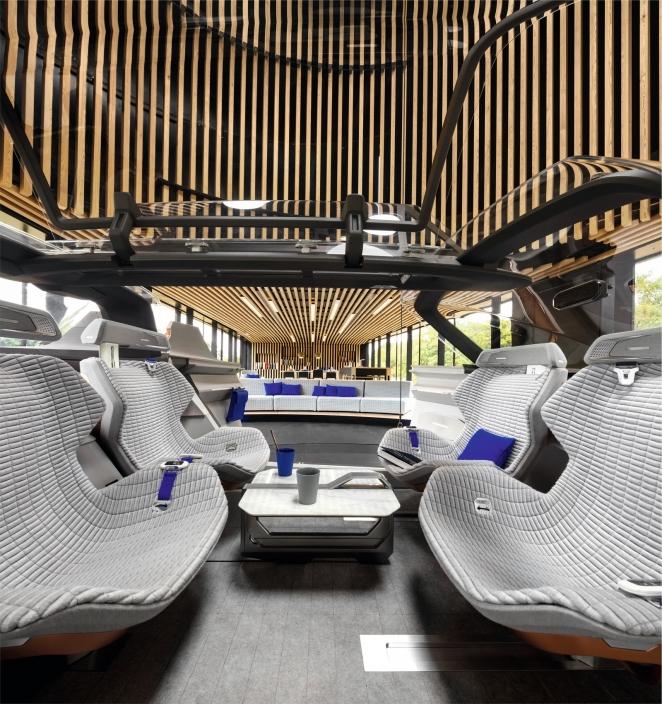 صورة داخلية لسيارة رينو سيمبيوز