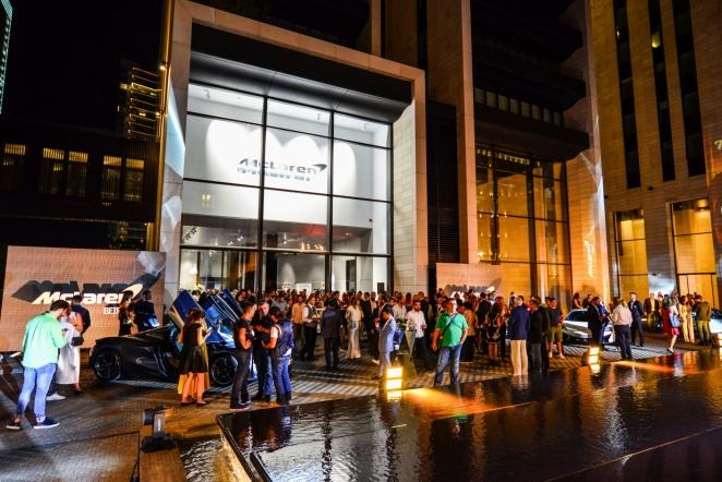 ماكلارين أتوموتيڤ تحتفل بافتتاح صالة عرض جديدة في العاصمة اللبنانية بيروت