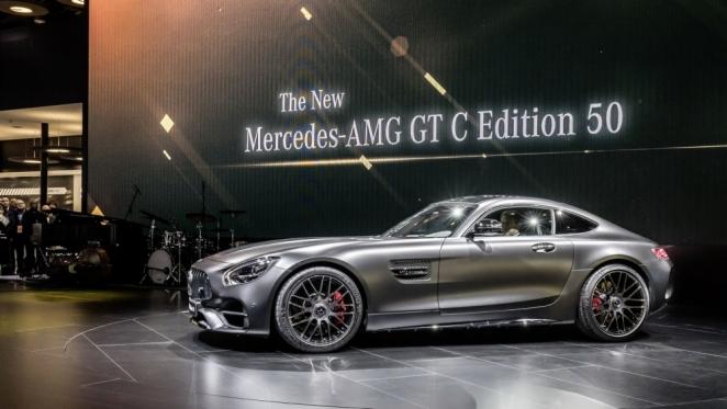 مرسيدس تكشف عن AMG GT في معرض ديترويت