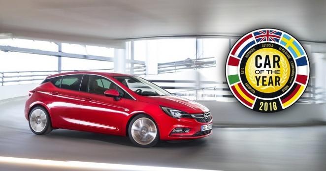 اوبل أسترا تحصل على جائزة سيارة العام الأوروبية 2016