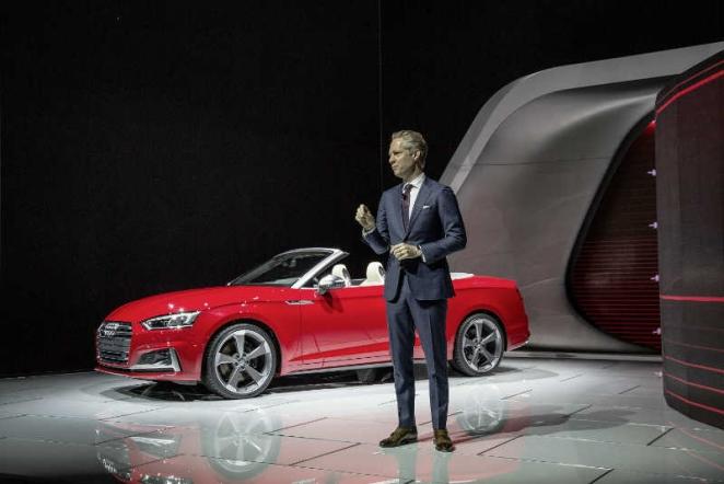 أودي في معرض ديترويت للسيارات بداية قوية للعام بعد الكشف عن ثلاثة موديلات جديدة