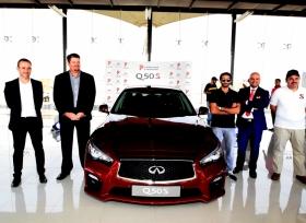 انفينيتي تطلق Q50s رسمياً في السعودية