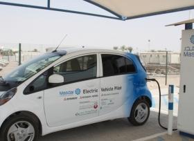 الامارات سيارات كهربائية