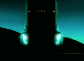 شاحنة تيسلا الكهربائية