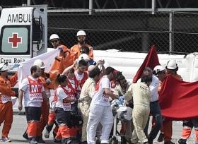 حادث مروع للدراج العالمي Luis Salom في بطولة العالم للدراجات
