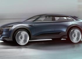 صور تشويقي لسيارة اودي e-tron كواترو الإختبارية