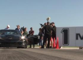 شفروليه كورفيت معدلة تحصل على لقب أسرع سيارة كهربائية