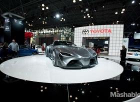 أهم  تكنولوجيا  السيارات في معرض نيويورك  2015