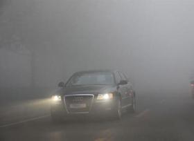ماذا تفعل عند انعدام الرؤية أثناء القيادة بسبب الضباب