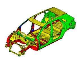 سيارة كاديلاك 2017 XT5 كروس أوفر تحصل على أعلى تقييم للأمان من معهد التأمين للسلامة