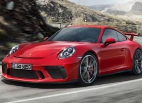 بورش تزيح الستار عن 911 GT3 الجديدة في معرض جنيف