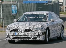 صور تجسسية لسيارة اودي S8 الجديدة