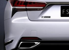 لكزس تنوي الكشف عن LS 500 F Sport في معرض نيويورك