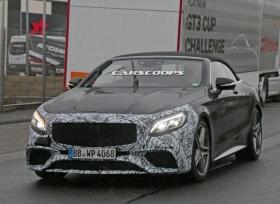 مرسيدس تختبر S63 AMG كابريو المحدّثة على حلبة  نوربرجرنج