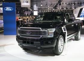 اطلاق سيارة فورد الجديدة في معرض دبي