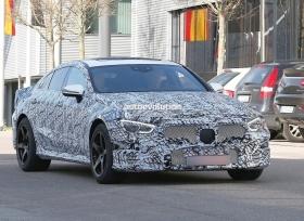 مرسيدس AMG GT سيدان تظهر بصور تجسسية