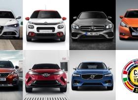 الإعلان عن قائمة المرشحين النهائية لجائزة سيارة العام في أوروبا 2017