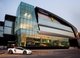 افتتاح أكبر معارض شركة لامبورغيني على مستوى العالم في دبي