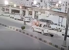 طفل ينجو من حادث دهس في السعودية