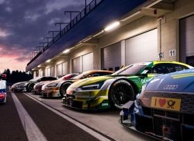 أودي تكشف عن 6 سيارات سباقات لمنافسات DTM