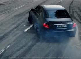 مرسيدس AMG تعرض مقطع فيديو لقوة E63 S