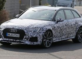 صور تجسسية لسيارة اودي RS4 Avant الجديدة