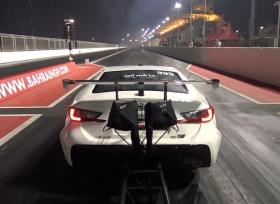 لكزس RC F بحرينية تقطع ربع ميل خلال 5.5 ثانية