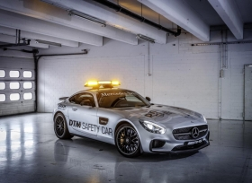 DTM تعين مرسيدس AMG GT-S سيارة السلامه لسباقاتها