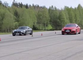 منافسة بين اودي RS7 و مرسيدس AMG GTS