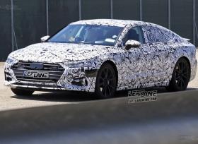 صور تجسسية لسيارة اودي A7 الجديدة