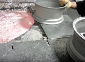 بالفيديو إعادة تدوير جنوط مصنوعة من الألمنيوم