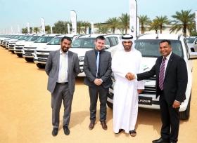الكندي للسيارات توقّع أكبر صفقة مع نادي دبي لسباقات الهجن لبيع 112 سيارة شيفروليه