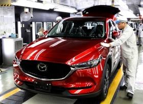 مازدا تبدأ بانتاج سيارتها الجديد CX-5