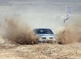 """الثنائي الأردني عارف وجيهريان يسعيان  للفوز بلقب فئة الـ """"أم إي آر سي3"""" في رالي قطر الدولي"""
