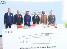 ساماكو تفتتح رسمياً أكبر مركز أودي في جدة