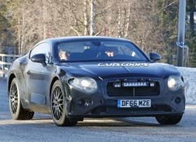 بنتلي تختبر الجيل الجديد من كونتينينتال GT و GTC في الاجواء الباردة بالشمال الأوروبي