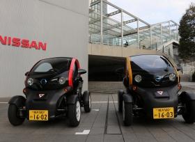 نيسان ومدينة يوكوهاما تطلقان خدمة مشاركة السيارات الكهربائية صغيرة الحجم في اليابان