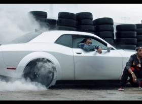 دودج تشالنجر SRT ديمون تشارك في فلم The Fate of the Furious